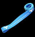 Long - Exercise Resistance Band - Light Blue - 64 ~ 100 kg για δίαιτες