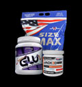 Size Max, Jack3d / Old Version / & Xtreme Glutamine για δίαιτες