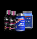Lipo Shred, CLA + Green Tea & Liquid L-Carnitine + Chrome για δίαιτες