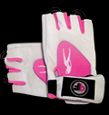 Lady Gym Gloves Pink White για δίαιτες
