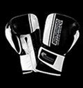 Boxing gloves - Dominator Black White Stripes - Leather για δίαιτες