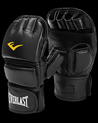 Black - MMA and Boxing Gloves от Everlast