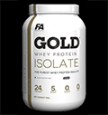 Gold Whey Isolate για δίαιτες