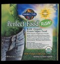 Perfect Food® RAW Organic Green Super Food Powder για δίαιτες