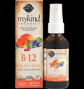 mykind Organics Vegan Vitamin B-12 Spray Raspberry για δίαιτες