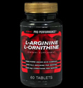 Pro Performance® L-Arginine 375 mg & L-Ornithine 250 mg για δίαιτες