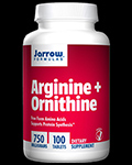 L-Arginine 500 HCL mg with L-Ornithine HCL 250 mg για δίαιτες