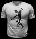 Kevine Levrone T-Shirt / Light Grey για δίαιτες