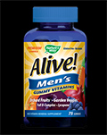 Alive!® Men's Gummy Vitamins για δίαιτες