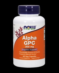 Alpha GPC - 300 mg от NOW Foods