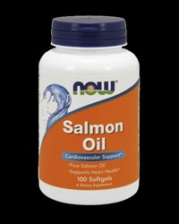 Salmon Oil 1000 mg от NOW Foods