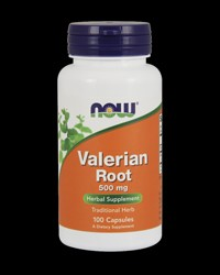 Valerian Root 500 mg от NOW Foods