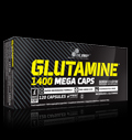 L-Glutamine Mega Caps 1400 mg Mega Caps για δίαιτες