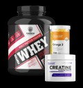 Whey Deluxe / + Creatine + Omega / 1+2 FREE για δίαιτες