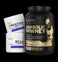 Kevin Levrone Anabolic Iso Whey / + BCAA + Glutamine + Creatine FREE για δίαιτες