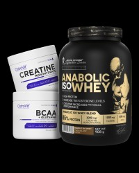 Kevin Levrone Anabolic Iso Whey / + BCAA + Glutamine + Creatine FREE от Kevin Levrone, OstroVit