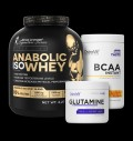 Kevin Levrone Anabolic Iso Whey / + BCAA Instant + Glutamine FREE για δίαιτες