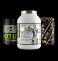 Kevin Levrone Gold Iso Whey + Dorian Blood & Guts + Swedish BCEAA για δίαιτες