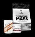 LevroLegendary Mass + Ostrovit Creatine Hcl + Swedish Glutamine για δίαιτες