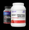 OstroVit Whey Protein Isolate + Fat Burner Extreme FREE για δίαιτες