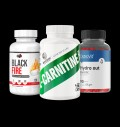 Pure Nutrition USA Black Fire / Swedish Supplements L-Carnitine Fortne / OstroVit Hydro Out για δίαιτες
