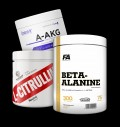 Swedish Supplements Citrulline Malate / OstroVit AAKG Powder / FA Nutrition Beta-Alanine CarnoSyn για δίαιτες