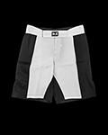 MMA Shorts - Black & White για δίαιτες