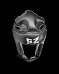 Muay Thai Helmet - Black για δίαιτες