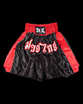 Muay Thai Shorts - Red & Black για δίαιτες