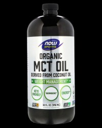 Sports MCT Oil от NOW Foods