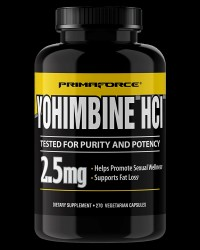 Yohimbine HCL 2.5 mg от PrimaForce Supplements