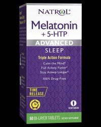 Advanced Sleep Melatonin 6 mg with 5-HTP 50 mg от Natrol