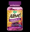 Alive! Calcium + Vitamin D3 250 mg για δίαιτες