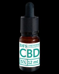 CBD Oil 5% / Hemp Flower Extract от Diet - Food