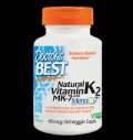 BEST Natural Vitamin K2 MK-7 45 mcg για δίαιτες