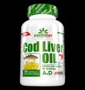 GreenDay® Cod Liver Oil 552 mg για δίαιτες