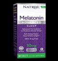Advanced Sleep Melatonin 10 mg για δίαιτες