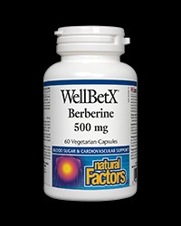 WellBetX Berberine 500 mg от Natural Factors