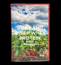 Goat and Sheep Whey Protein mixed Strawberry για δίαιτες