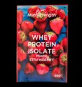 Whey Protein Isolate Mixed Strawberry για δίαιτες