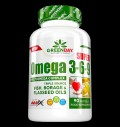 GreenDay® Super Omega 3-6-9 1000 mg για δίαιτες