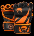Challenger MMA Gloves - Neo Orange & Black για δίαιτες