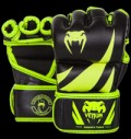Challenger MMA Gloves - Neo Yellow & Black για δίαιτες