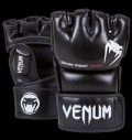 Impact MMA Gloves - Skintex Leather - Black για δίαιτες