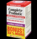 Complete Probiotic Double Strength / 10 Billion Active Cells για δίαιτες