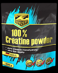 100% Creatine Powder от Z-Konzept